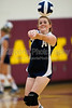 Glenn Bobcats vs E Forsyth Eagles Varsity Volleyball<br /> Tuesday, August 17, 2010 at Adkins High School<br /> Winston-Salem, North Carolina<br /> (file 181443_QE6Q7550_1D2N)