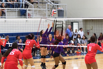 Warren vs Taft High School Volleyball