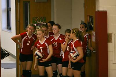 IVMS 8th Grade Volleyball v. Tippecanoe