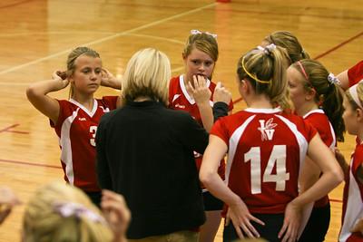 IVMS 7th Grade Volleyball v. Tippecanoe