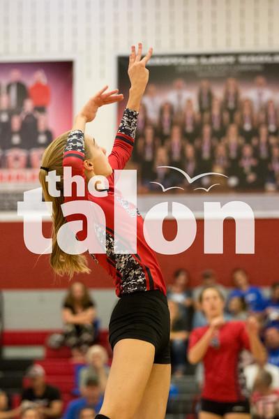 Lady Eagles take on Krum on Monday, Oct. 17 at Argyle High School in Krum, TX. (Caleb Miles / The Talon News)
