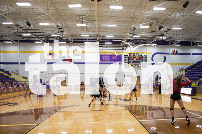JV Lady Eagles take on Sanger on Monday, Oct. 10 at Sanger High School in Sanger, TX. (Caleb Miles / The Talon News)
