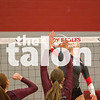 Lady Eagles take on Bridgeport on Thursday, Oct. 20 at Argyle High School in Argyle, TX. (Caleb Miles / The Talon News)
