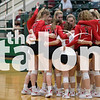 The Argyle Lady Eagles Volleyball team plays in the first Playoff Game against the Brownwood Lions at Breckenridge High School in Breckenridge, Texas, on October 30, 2018. (Andrew Fritz / The Talon News)