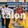 The Lady Eagles take on Decatur High School at Decatur High School in Decatur, Texas on October 1, 2019 (Jaclyn Harris / The Talon News).