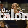 The Lady Eagles play against Decatur on October 25, 2017 at Decatur Highschool in Decatur, Texas, on October 24, 2017. (Quinn Calendine / The Talon News)