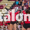 The Lady Eagles defeat Glen Rose High School at Saginaw High School in the first round of the playoffs on November 4, 2019 (Alex Daggett | The Talon News).