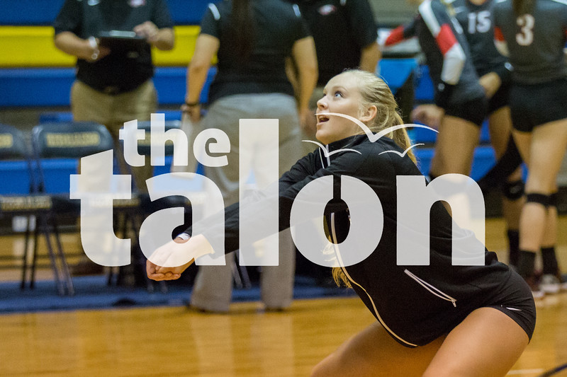 Lady Eagles take on Keller on Monday, Sept. 12 at Keller High School in Keller, TX. (Caleb Miles / The Talon News)