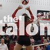 The Lady Eagles compete in their  District Volleyball at Argyle High School in Argyle, Texas, on October 16, 2018. ( Sloan Dial/ The Talon News)