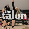 Lady Eagles take on Nevada Community in  volleyball area playoffs   at Lebanon Trail Highschool in Frisco, Texas, on November, 2, 2017. (Sarah Berney / The Talon News)