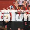 The Lady Eagles defeat Springtown at AHS on Senior Night on Oct. 9, 2018. (Campbell Wilmot/ The Talon News).