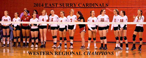 Lincoln Charter vs East Surry Western Regional Final 2014