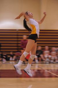 Menlo Atherton High School Girl's JV Volleyball vs. South San Francisco.  October 7, 2014