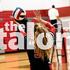 The Lady Eagles compete in the Sawyer Camillo Memorial Tournament on August 23, 2019. (Alex Daggett/ The Talon News)