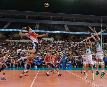 FIVB Men's Volleyball World League: Bulgaria vs USA 06.20.14