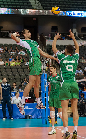 FIVB Men's Volleyball World League: Bulgaria vs USA