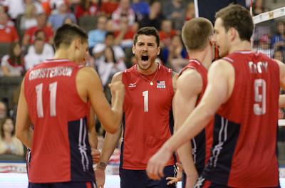 FIVB Men's Volleyball World League: Poland vs USA 06.12.15