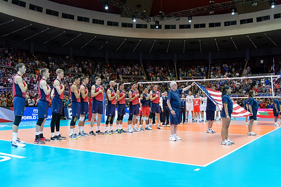 USA vs Bulgaria FIVB Men's Volleyball World League July 1, 2016