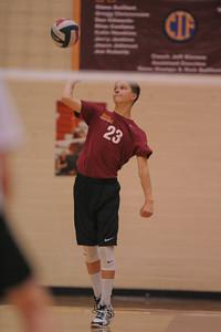 Menlo Atherton High School Boy's JV  Volleyball vs. University Preparatory Academy on May 5, 2015