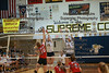 OG's Emily Annesser (13) blocks a tip from Kenton's Hannah Heilman (10) getting the Lady Titans a point.
