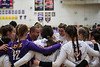 Leipsic head coach Brent Newell talks with his team before they play Miller City.