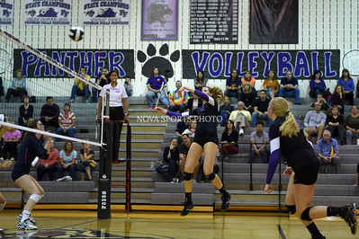 Volleyball: Briar Woods vs. Potomac Falls 10.13.15