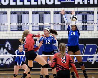 Volleyball: Heritage vs. Tuscarora 8.27.14