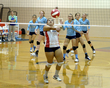 Volleyball: Millbrook vs. Park View 9.22.14