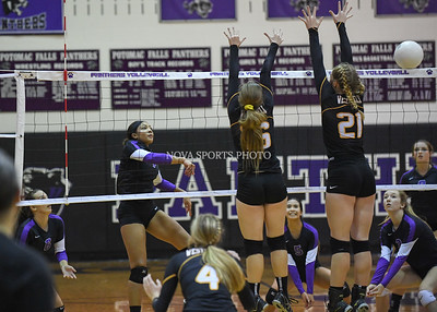 Volleyball: Westfield vs. Potomac Falls 9.1.16