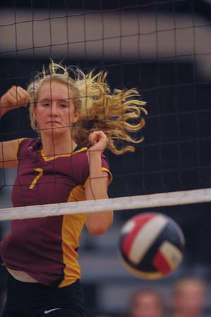 Woodside vs. M-A Girl's Varsity Volleyball 2014-10-14