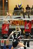 Aïda Shouk (5), Stella Odion (15), VC Kanti - Engelholm VS 3:1, CEV Challenge Cup 2012, 15.10.2011 © Reinhard Standke