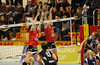 Ellen Orchard (11), Jilliane Goulet (13), VC Kanti - Engelholm VS 3:1, CEV Challenge Cup 2012, 15.10.2011 © Reinhard Standke