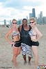 Sarah, Keith & Rose. Team Zebra<br /> 20100710 Volleywood Beach Bash.