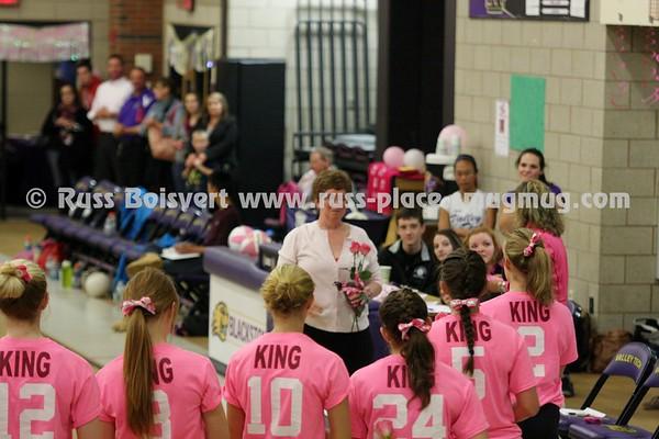 Varsity Dig Pink Game vs Douglas