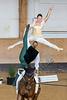 Bayerische Meisterschaften Voltigieren 2018, München-Riem, Olympia Reitanlage, Senior-Pas de deux, Annemie Szemes & Ella Schneider, VuPSV Schloß Rathsberg, Pferd: Fernando, Longe Dagmar Szemes