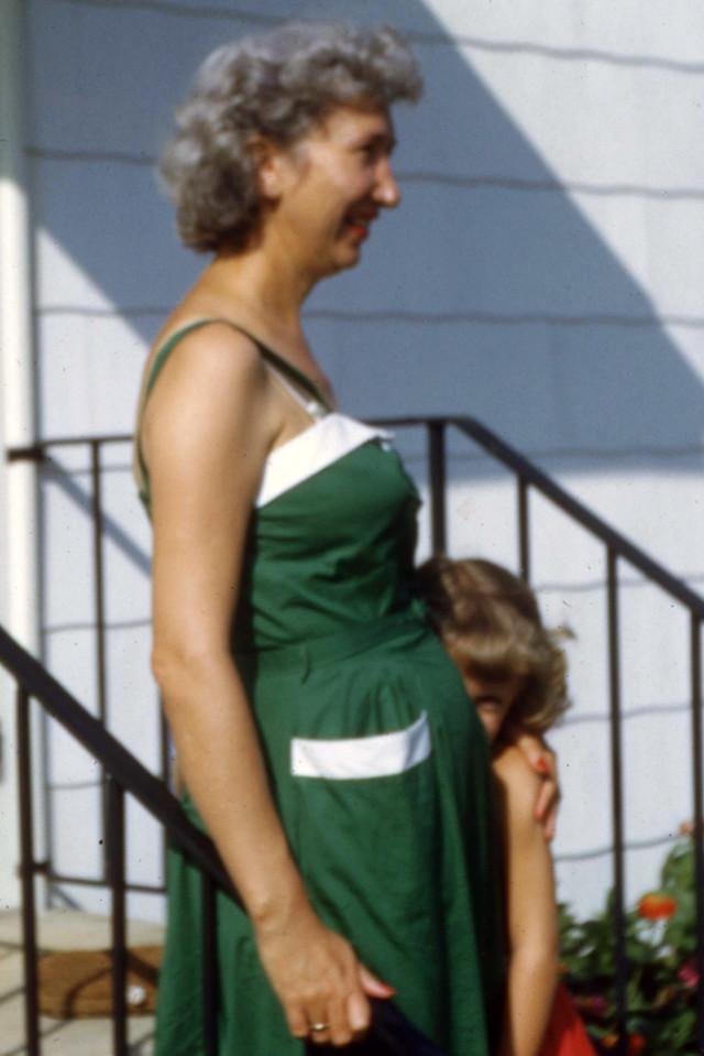 Mom with Gretchen Huckabay