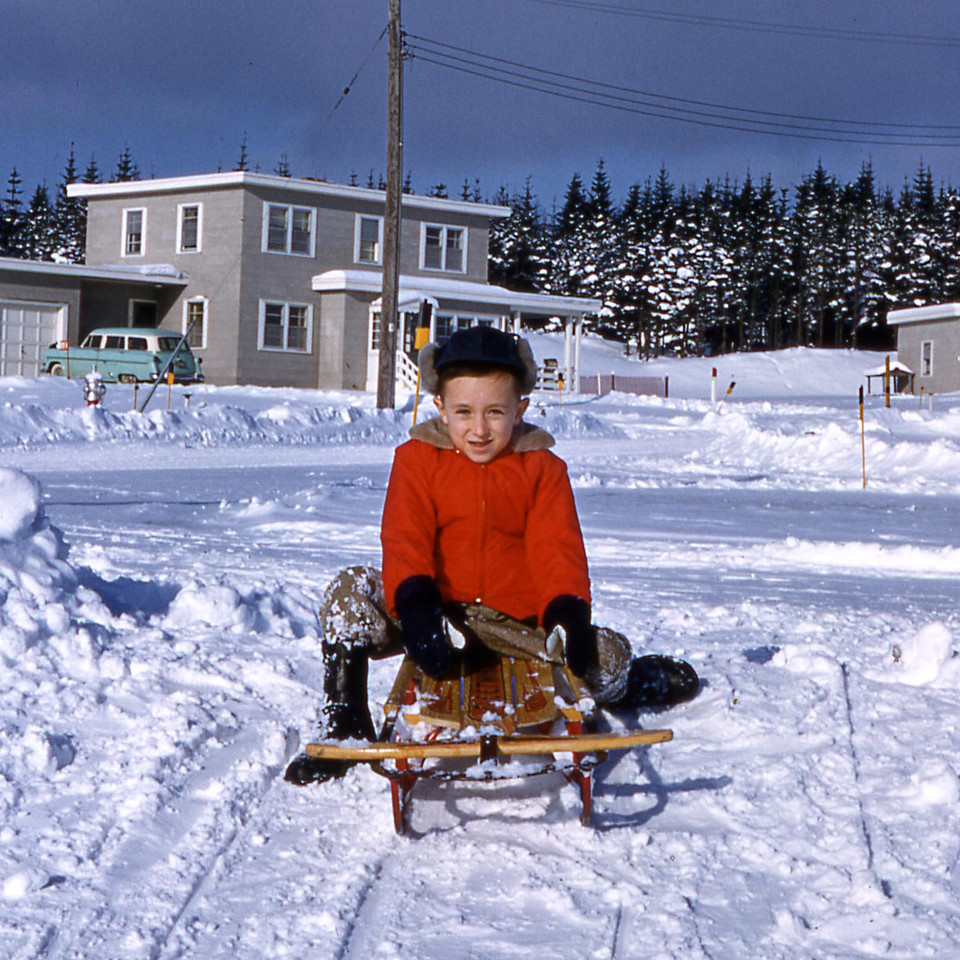 [BP] Randy getting ready for another sled run.