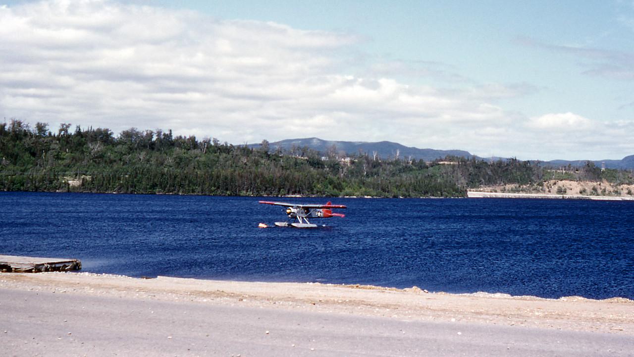 [BP] Seaplane that belonged to base personnel.
