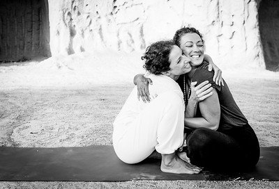 Happy Yoga with Anna & Vula at The Inner Temple (Santorini)
