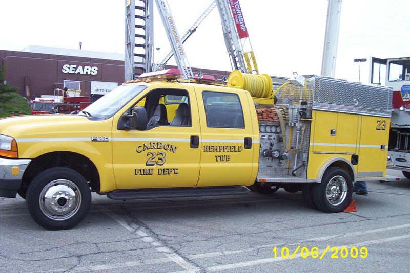 2009 Hempfield-Greensburg Fire Prevention Day