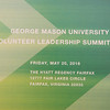 GMU 2016 Volunteer Leadership Summit