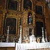 Side chapel altar