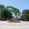 Central Square in downtown Comayagua