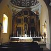Side chapel altar.