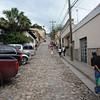 Cobbled streets of Ruinas de Copan.