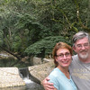 Kim and Alan at the Macaw Mountain Bird Park and Nature Reserve (Parque de Aves y Reserva Natural) at Ruinas de Copan.