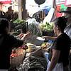 Market shopping in Ruinas de Copan