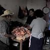 At the butcher shop in Ruinas de Copan