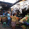 Kim shopping for spices in Ruinas de Copan.