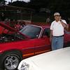 Osly Vasquez by his Camarro at a car show.  Tegucigalpa, 2007